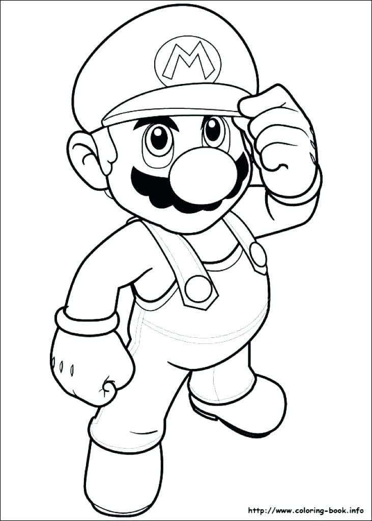 731x1024 Super Mario Smash Bros Coloring Pages Super Mario Brothers