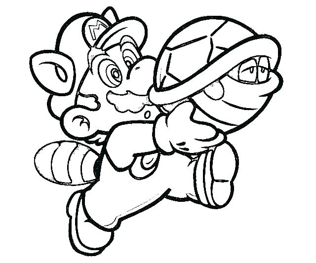 640x533 Coloring Pages Of Mario