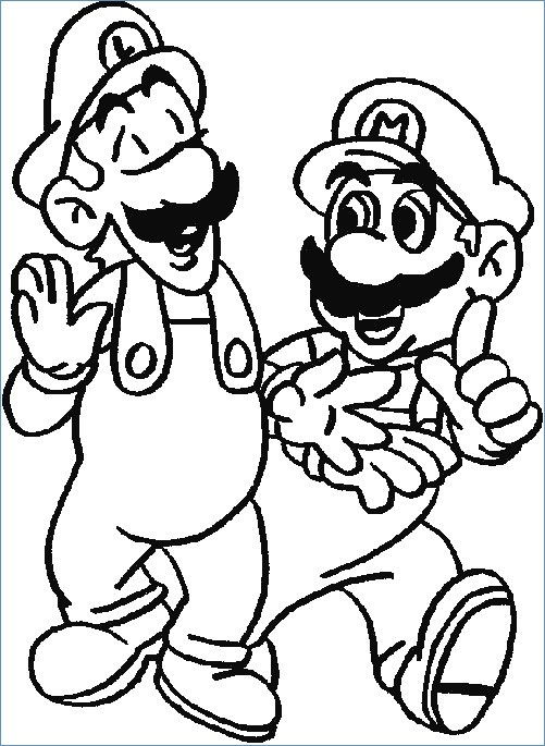 501x685 Mario Brothers Coloring Pages Luxury Super Mario Coloring Pages