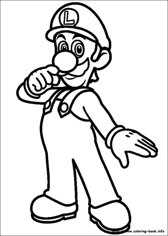 567x794 Mario Brothers Coloring Pages Pdf Super Bros