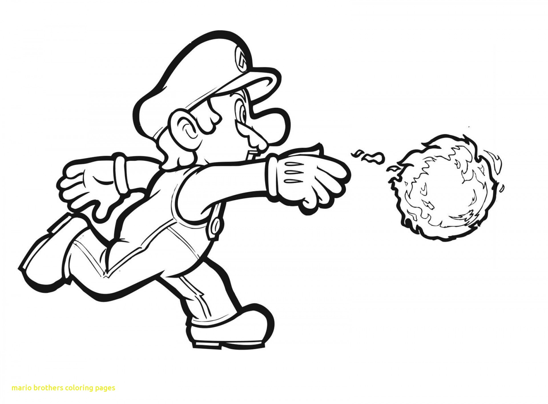 1920x1417 Mario Brothers Coloring Pages With Super Mario Brothers