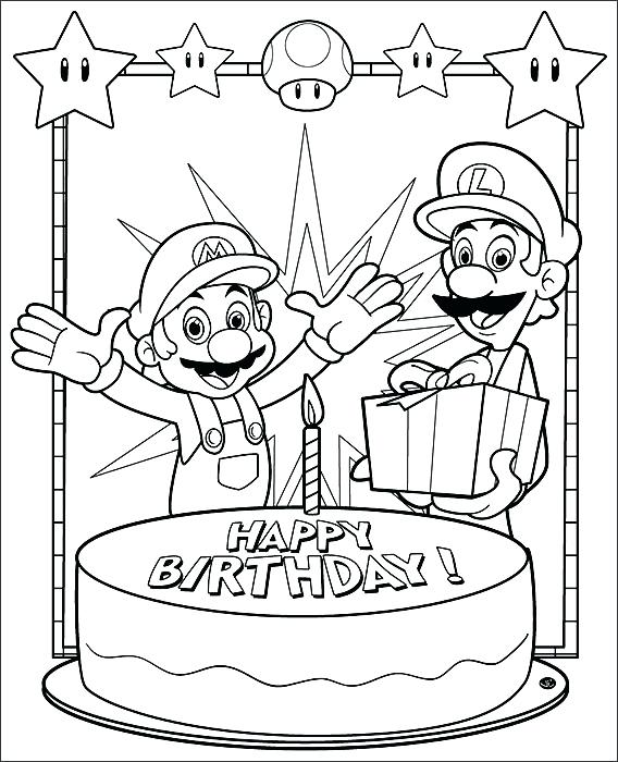 568x700 Mario Bros Printable Coloring Pages Bros Free Coloring Pages