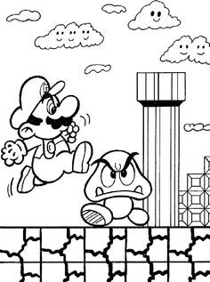 236x317 New Super Mario Bros Coloring Pages Free Printable Coloring