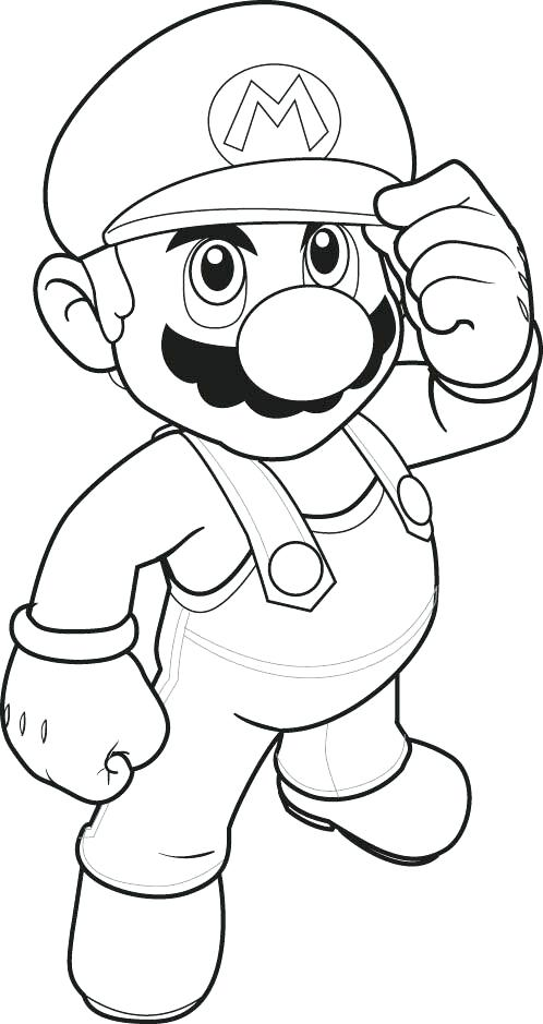 498x939 Super Mario Coloring Pages Online Super Coloring Pages For Kids