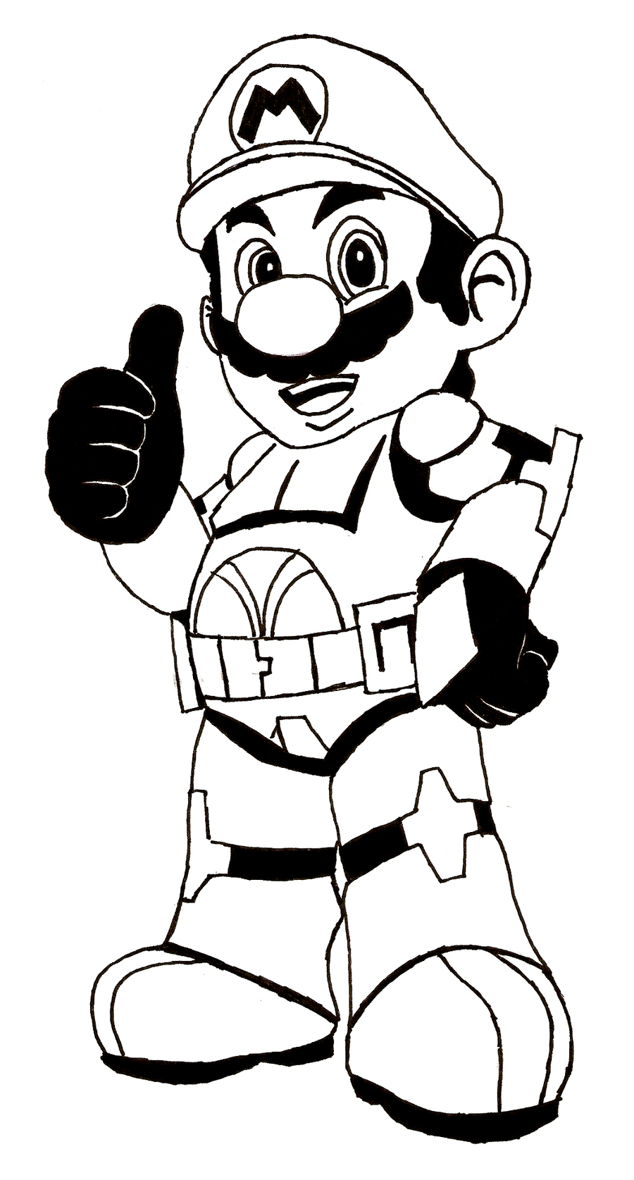 Mario Brothers Printable Coloring Pages At Getdrawingscom Free