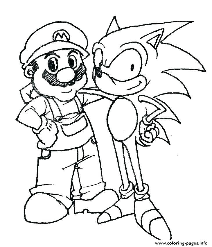 730x850 Mario Luigi Coloring Pages