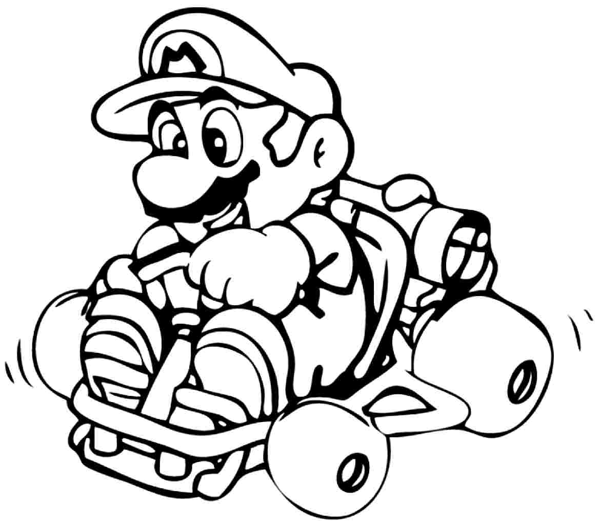 Mario Brothers Printable Coloring Pages At Getdrawings Com Free
