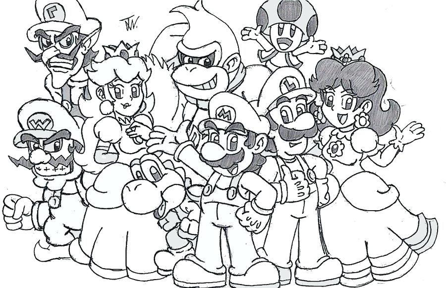 900x581 Mario Coloring Page Brilliant And Coloring Pages Accordingly