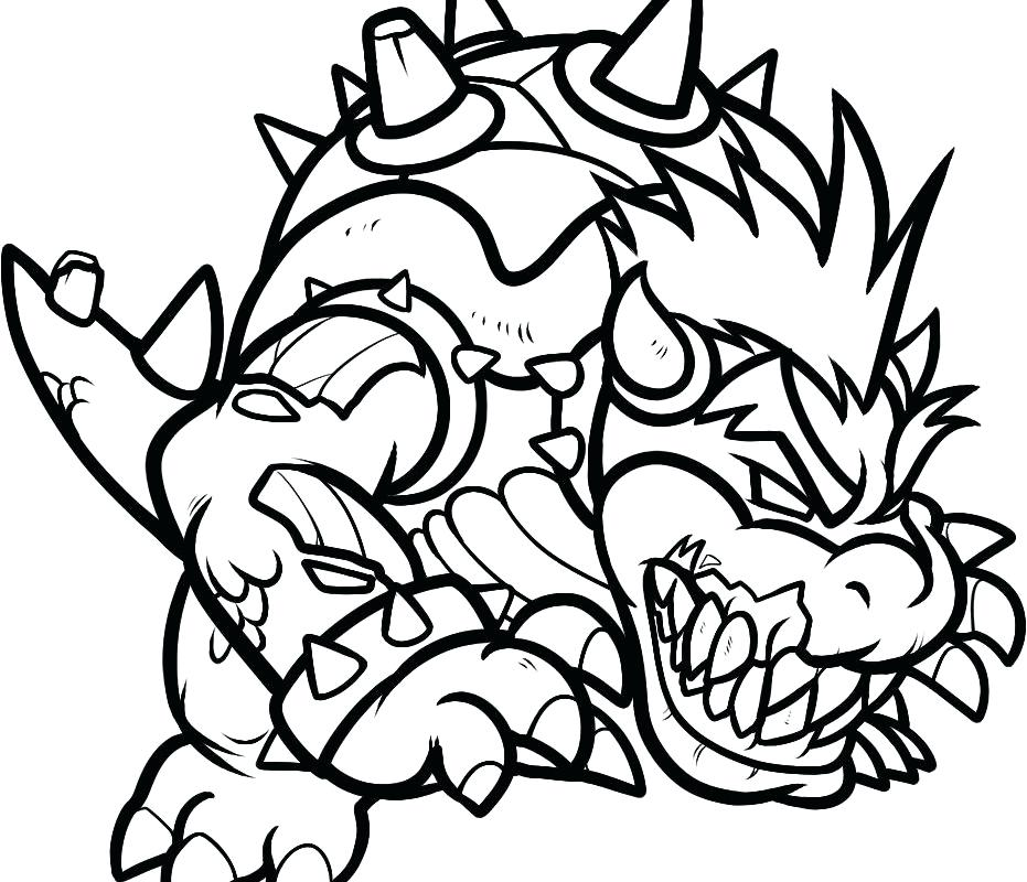 931x800 Bowser Jr Coloring Pages Coloring Pages Best Bros Coloring Pages