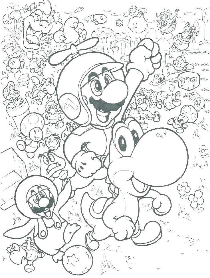 736x975 Mario Bros Coloring Pages Related Post Super Mario Bros Coloring