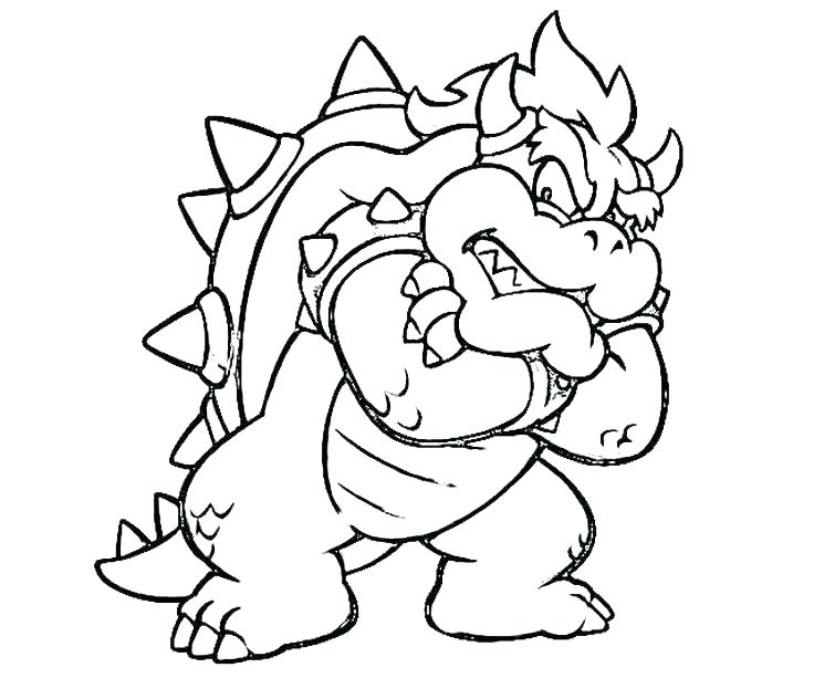 736x613 Mario Coloring Pages Online Paper Coloring Pages Paper Coloring