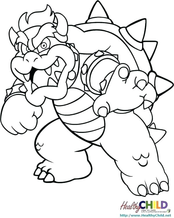 Mario Coloring Pages Online At Getdrawings Com Free For Personal