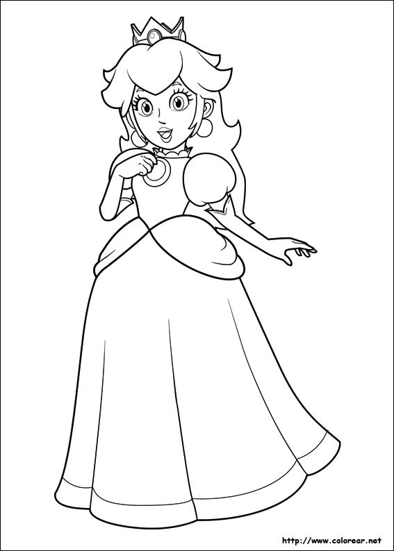 567x794 Super Mario Coloring Games Coloring Page Super Bros Video Games