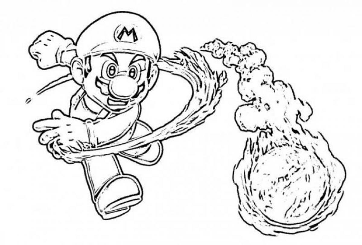 1200x813 Super Mario Coloring Pag On Games Super Mario Bros Coloring Pages