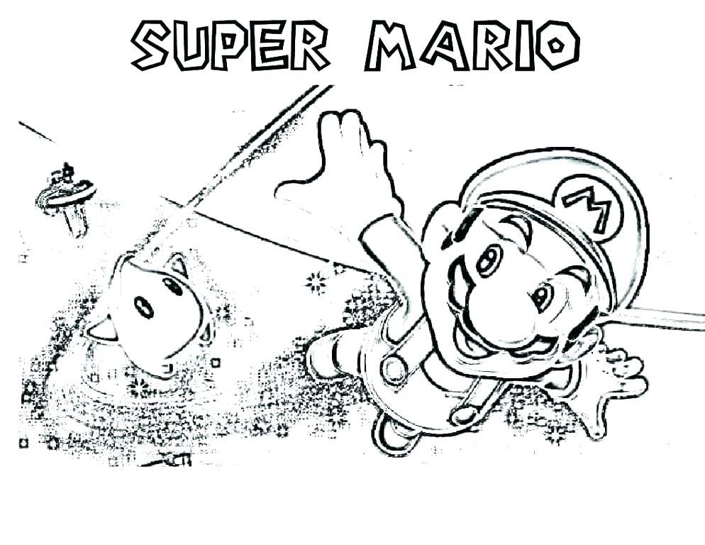 994x768 Super Mario Coloring Page Super Coloring Pages Photo Super Mario