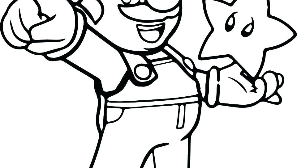 960x544 Super Mario Galaxy Coloring Pages Coloring Pages Super Bros
