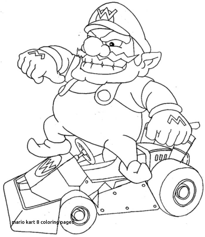 698x808 Mario Kart Coloring Pages
