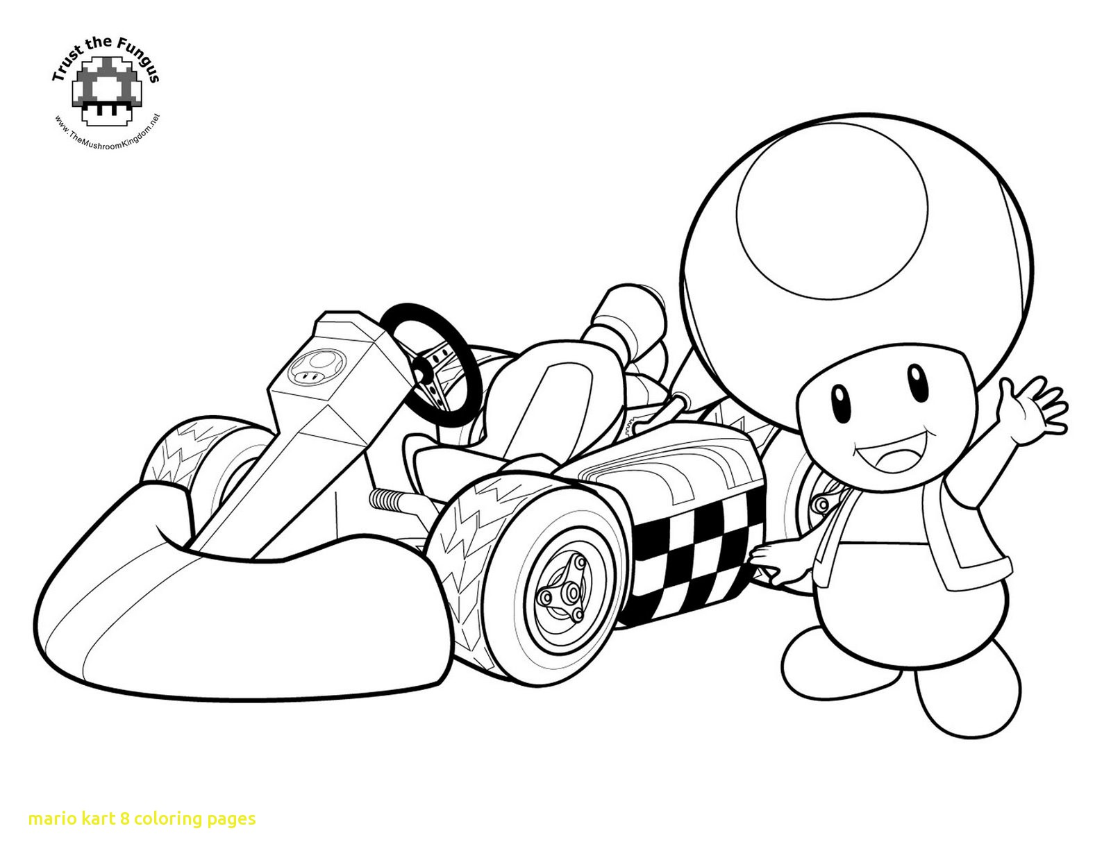 1600x1236 Mario Kart Coloring Pages With Pics Wii Fancy