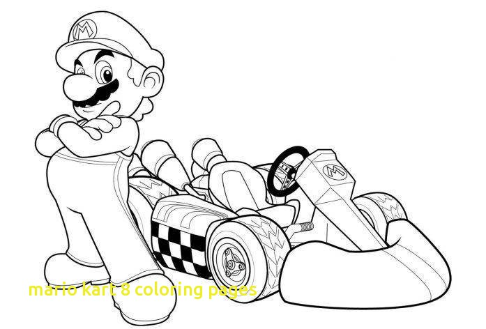 697x472 Mario Kart Coloring Pages With Printable Mario Kart Coloring