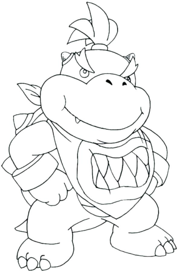 589x900 Mario Coloring Pages To Print