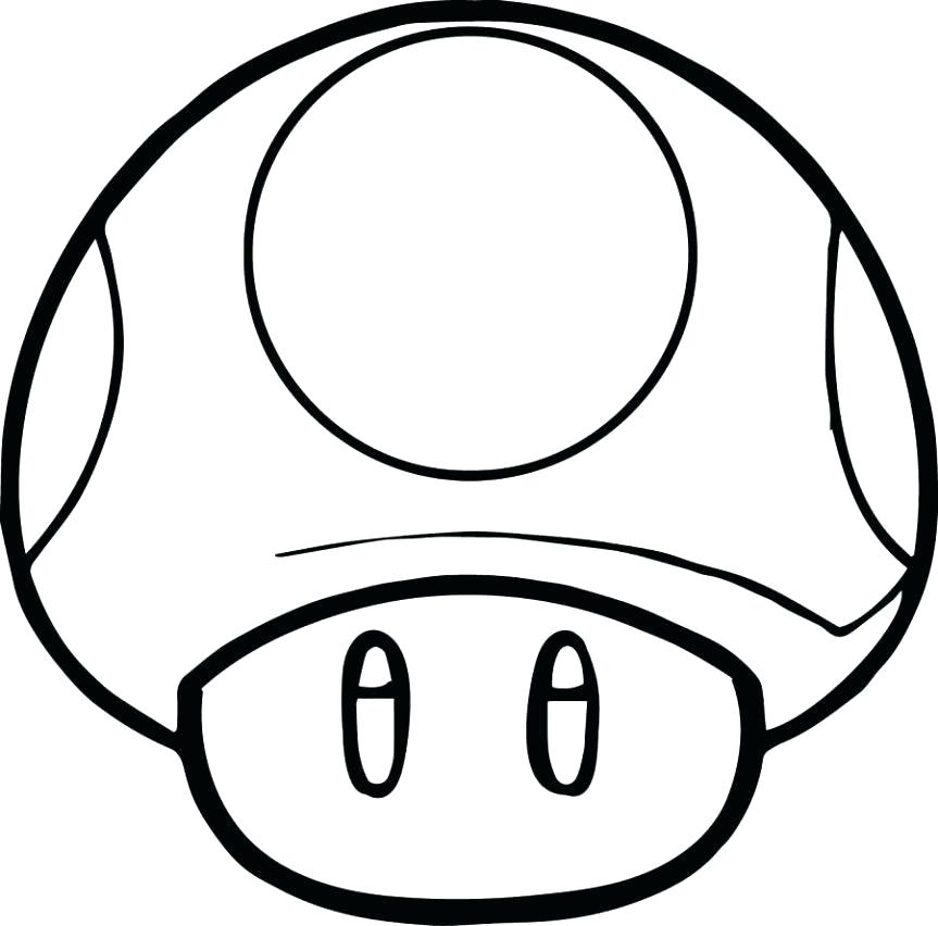 863x852 Mario Cart Coloring Pages Coloring Pages Super Mushroom Coloring