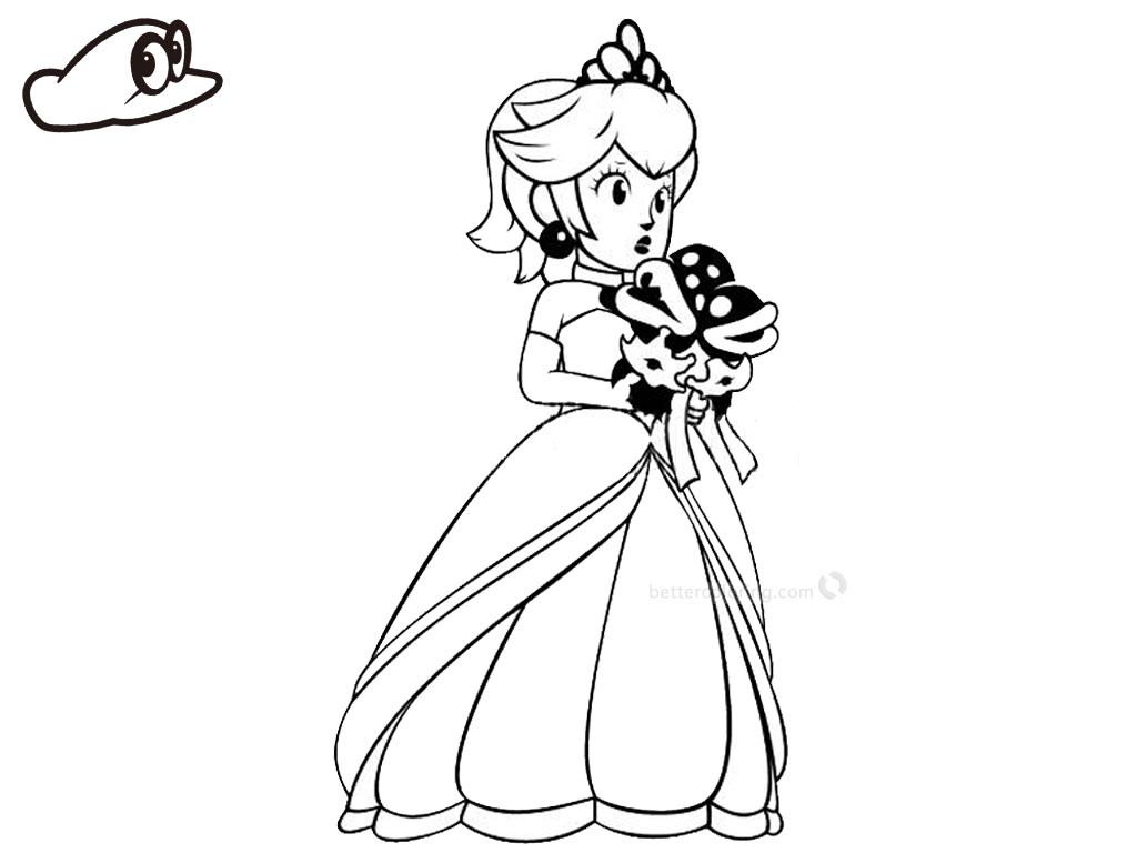 1024x768 Mario Odyssey Coloring Pages Beautiful Mario Bros Coloring Pages