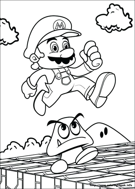 567x794 Mario Party Coloring Pages Awesome Super Coloring Page Mario Party