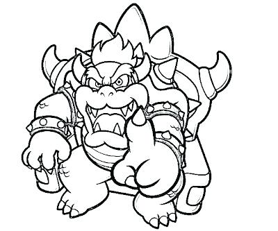 400x333 Mario Party Coloring Pages Printable Super Land Characters