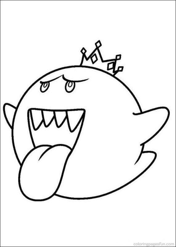 571x800 Super Mario Bros Coloring Pages Ag Doll Super