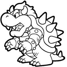 236x233 Free Super Mario Brothers Coloring Pages Things To Do