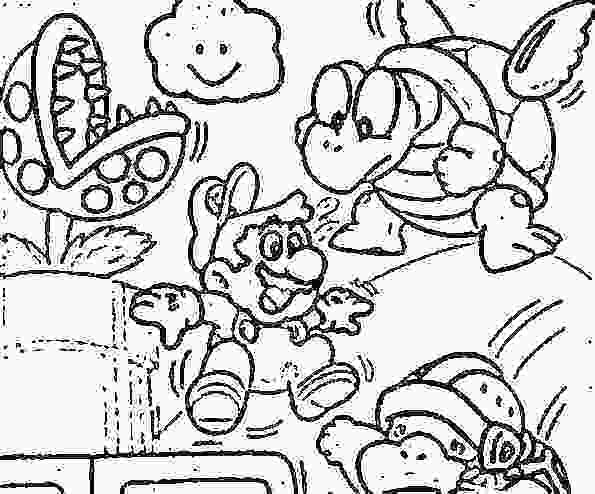 595x494 Mario Bros Coloring Pages Bros Coloring Page Super Bros Coloring