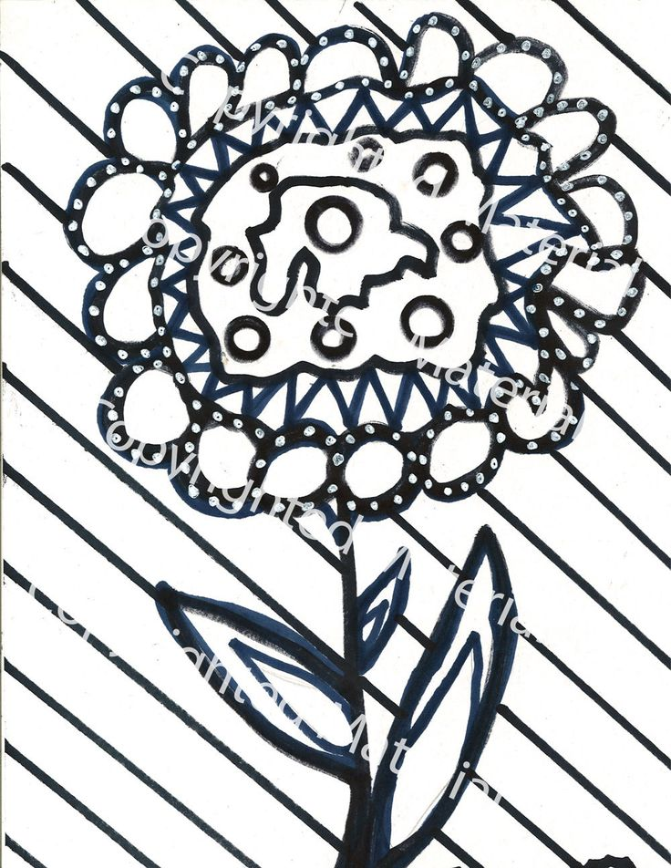 Marker Coloring Page