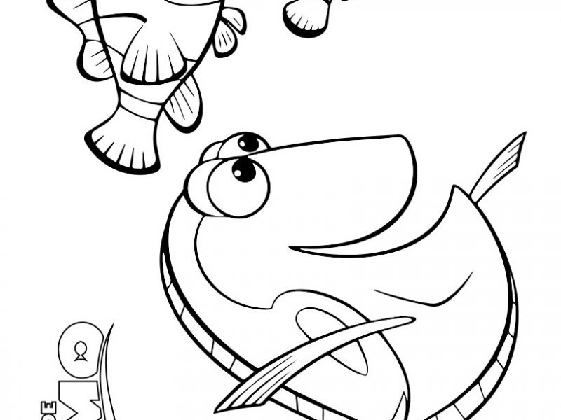 800x600 Nemo Coloring Pages Marlin Dory And Nemo Coloring Page Churchs