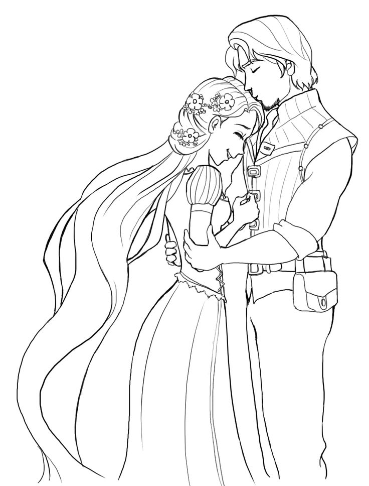 Marriage Coloring Page