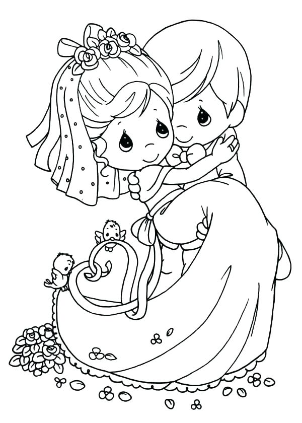 600x840 Wedding Cake Coloring Pages Wedding Coloring Pages Plus Unique