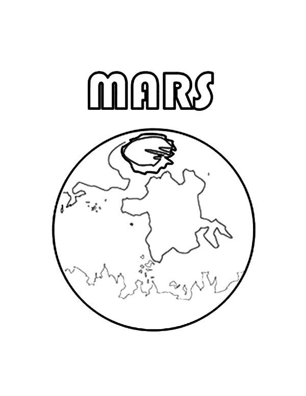 600x775 Picture Of Planet Mars Coloring Pages Color Luna