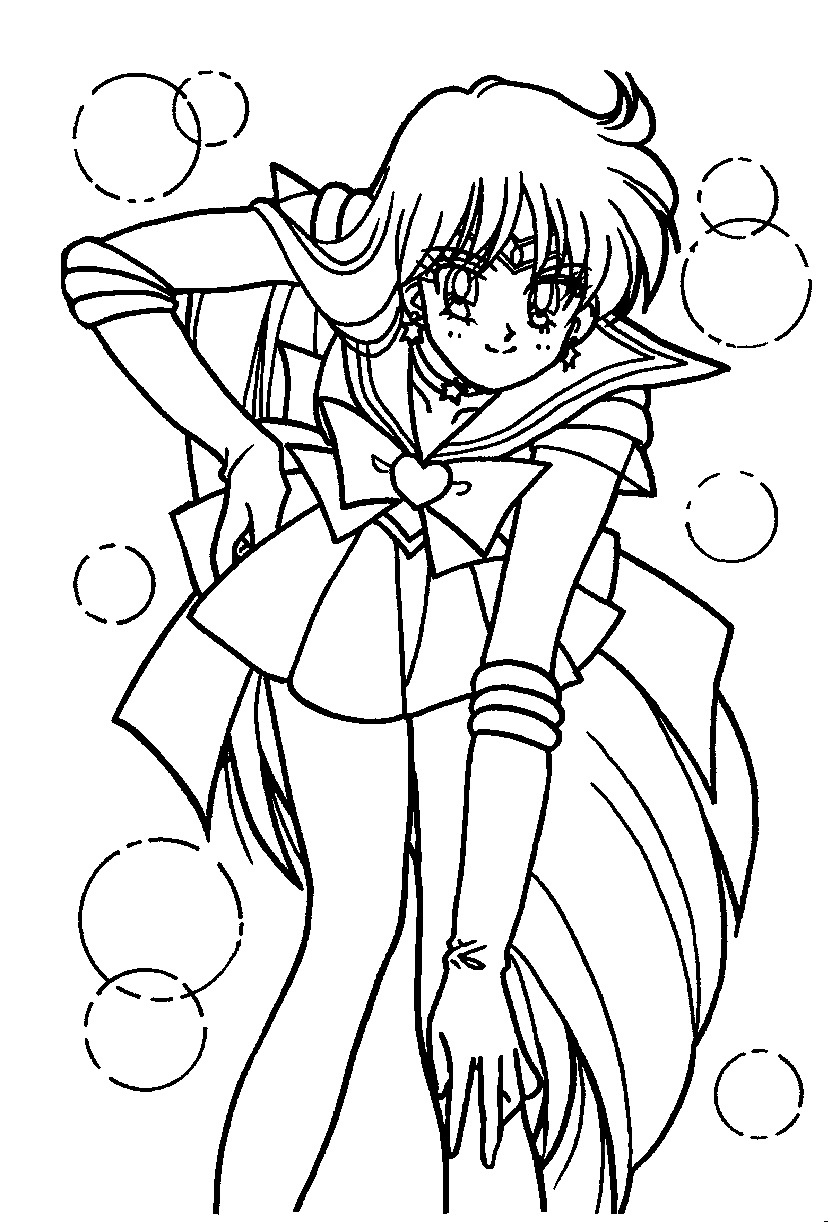 830x1223 Beautiful Love Coloring Pages Mars Sailor Page Sailormoon Moon