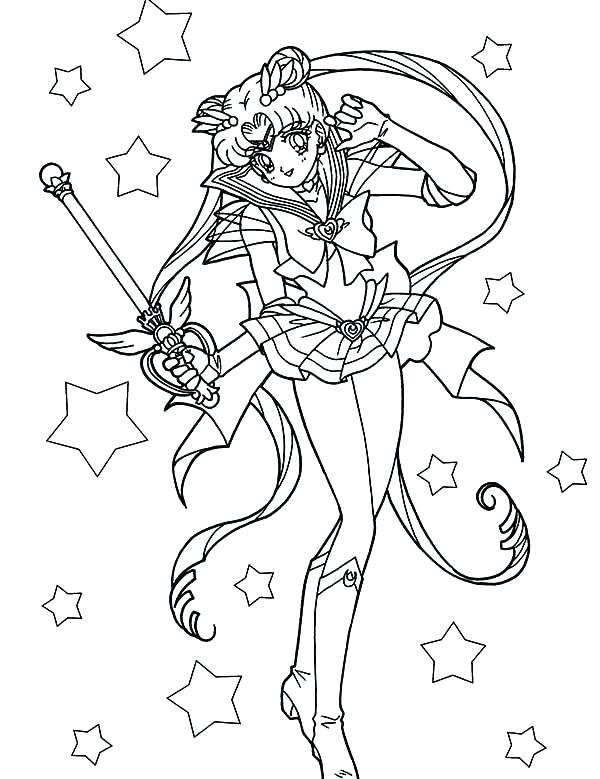 600x779 Sailor Mars Coloring Pages Sailor Mars Coloring Pages Beautiful