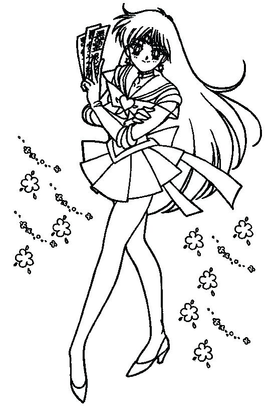 559x818 Sailor Mars Coloring Pages Sailor Sailor Moon Colouring Pages Moon