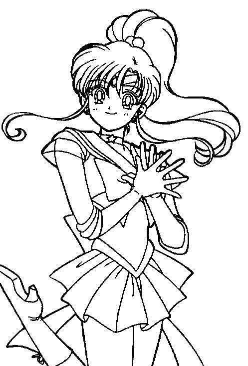 497x732 Coloring Pages Of Mars Sailor Moon Coloring Super Sailor