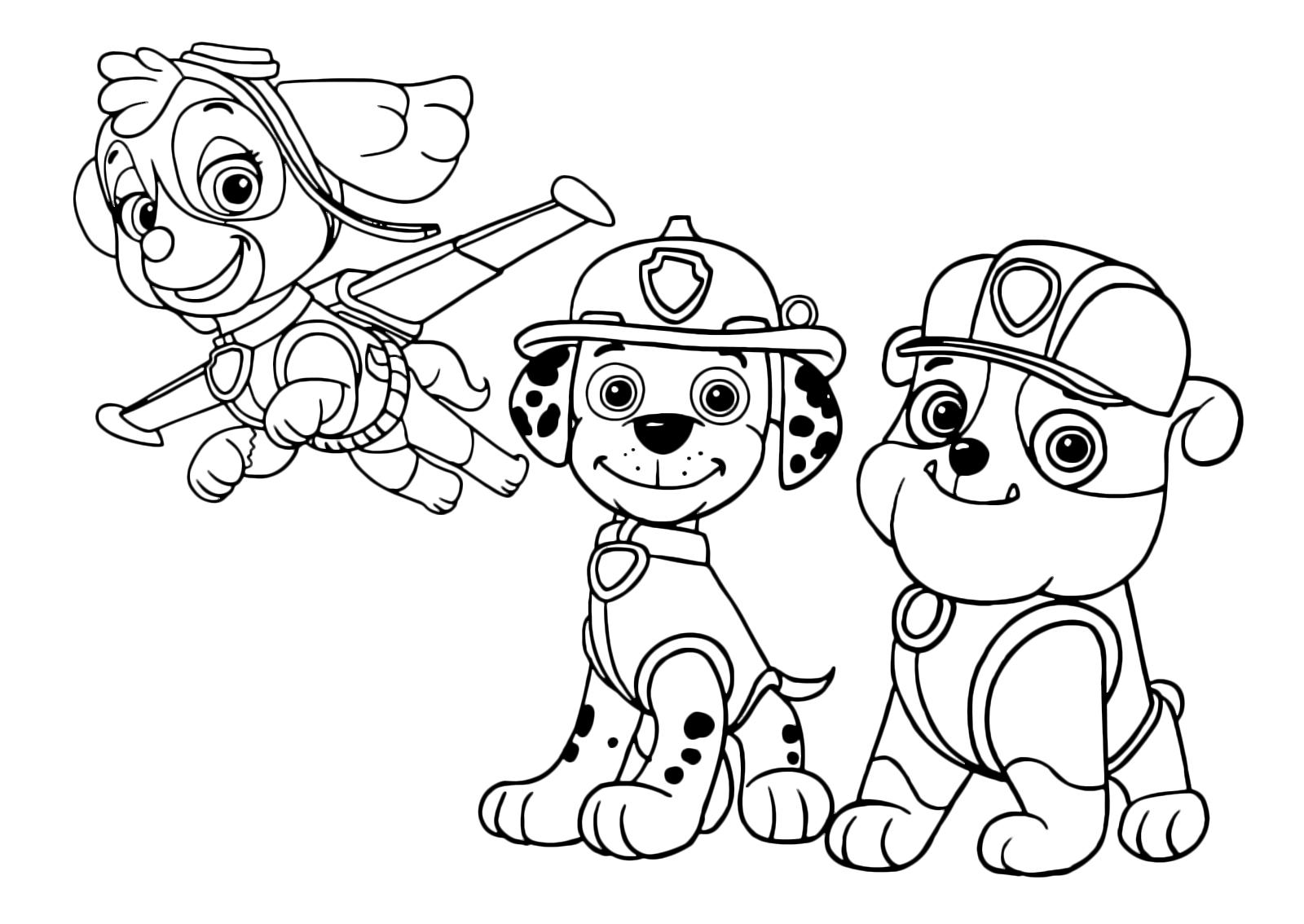 Marshall Paw Patrol Drawing at GetDrawings   Free download