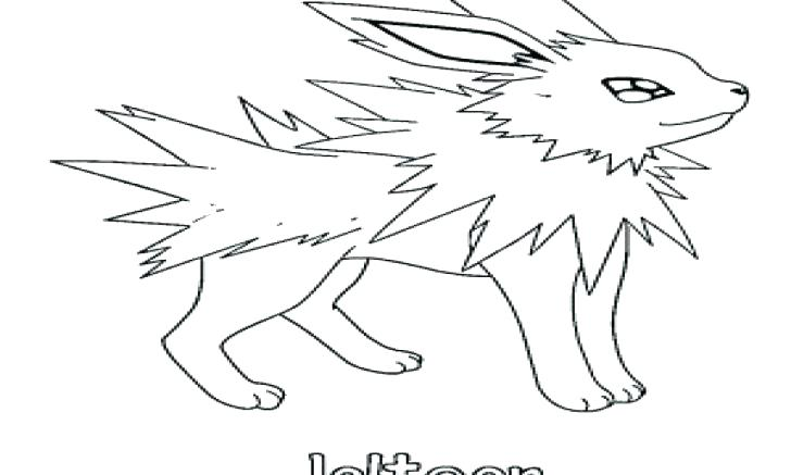 728x437 Jolteon Coloring Pages Free Coloring Library