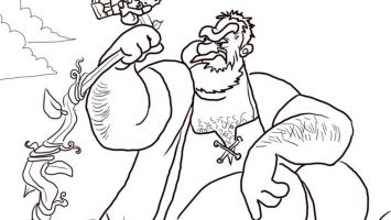 355x200 Pesach Coloring Pages To Print Coloring For Kids