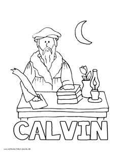236x305 History Coloring Pages Volume Martin Luther, Luther And Thesis