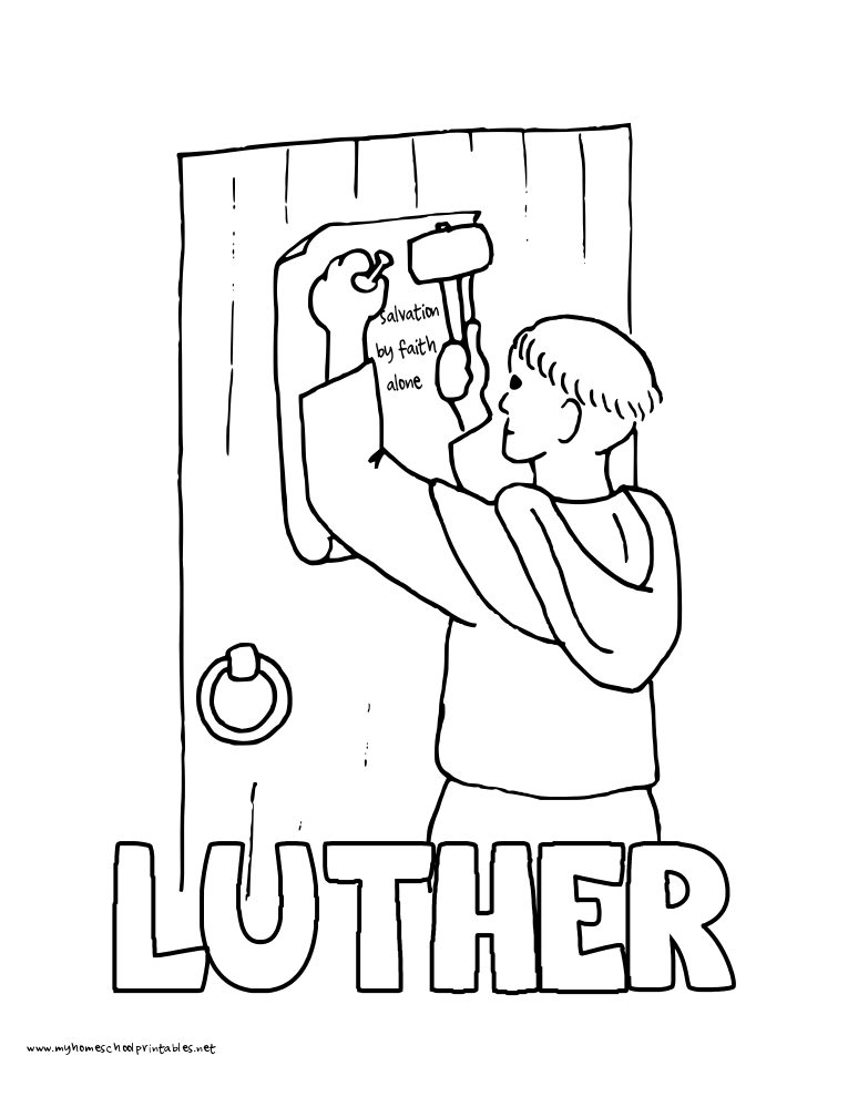 765x990 History Coloring Pages Volume Martin Luther, Luther And Thesis