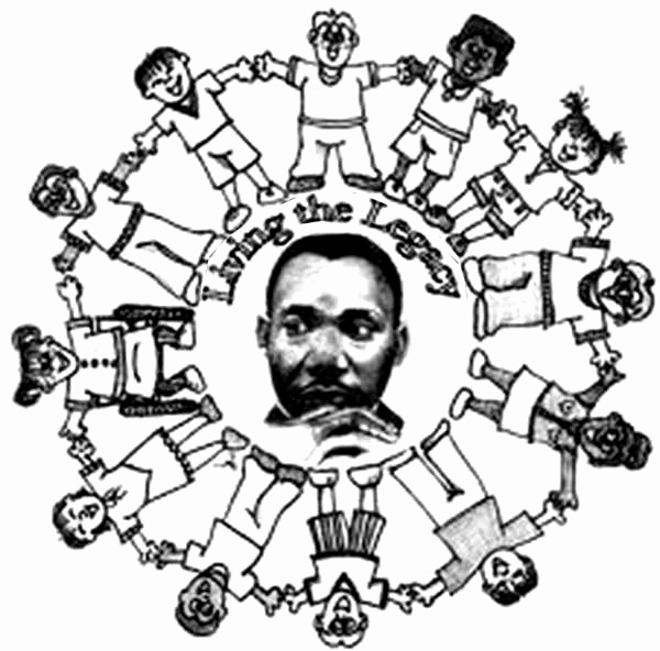 Martin Luther King Coloring Pages Free