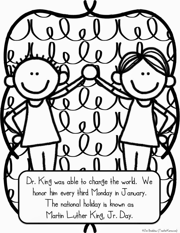 720x932 Martin Luther King Free Printable Coloring Pages