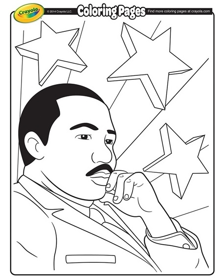 458x570 Martin Luther King Jr Printable Coloring Pages Free Printable