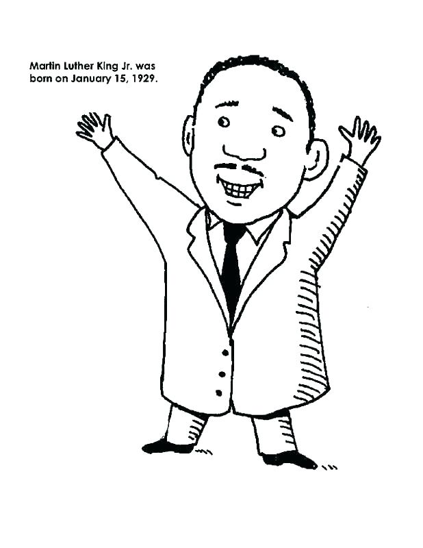618x800 Martin Luther King Printable Coloring Pages Coloring Page Martin