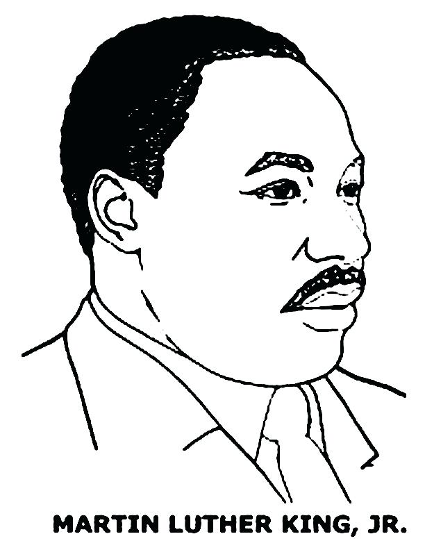 612x792 Mlk Coloring Page Charming Martin King Jr Coloring Page Pages Free